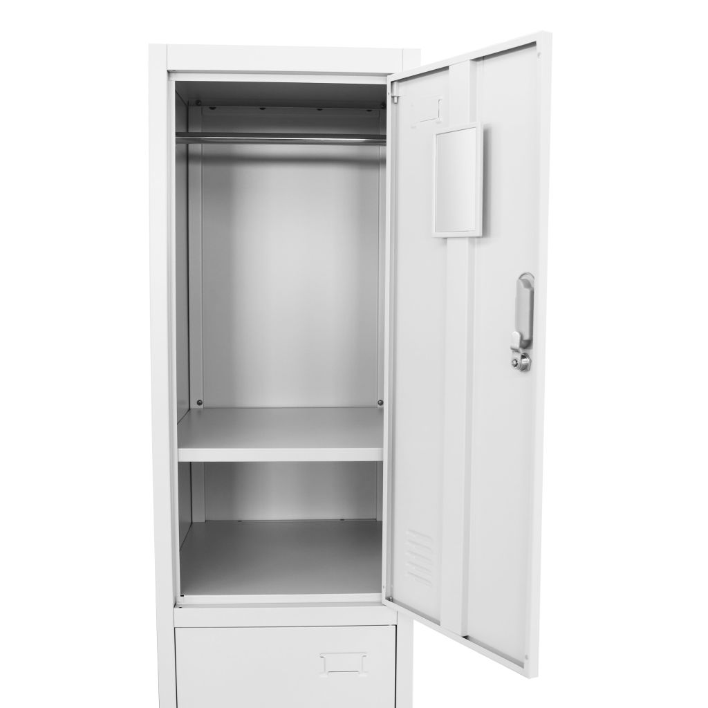 Locker Cabinet with 2 Compartments 38x45x180 cm 5