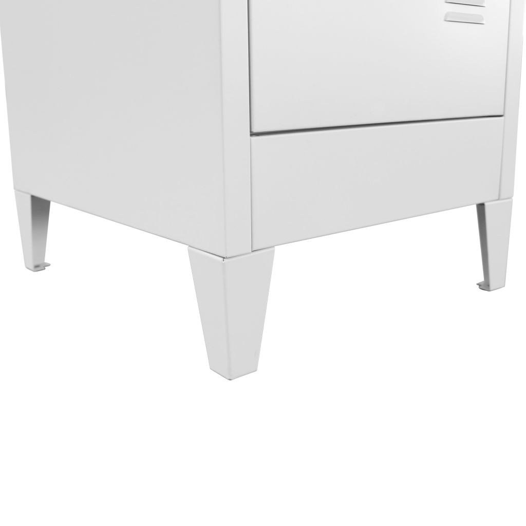Locker Cabinet with 2 Compartments 38x45x180 cm 8