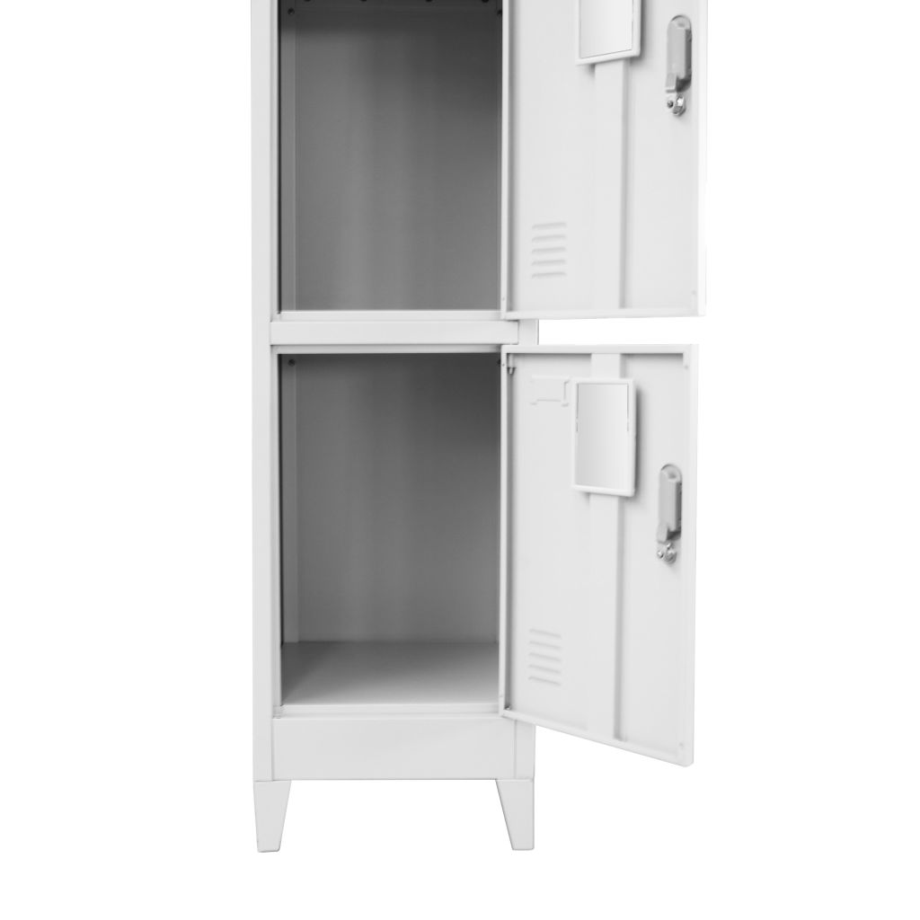 Locker Cabinet with 3 Compartments 38x45x180 cm 4