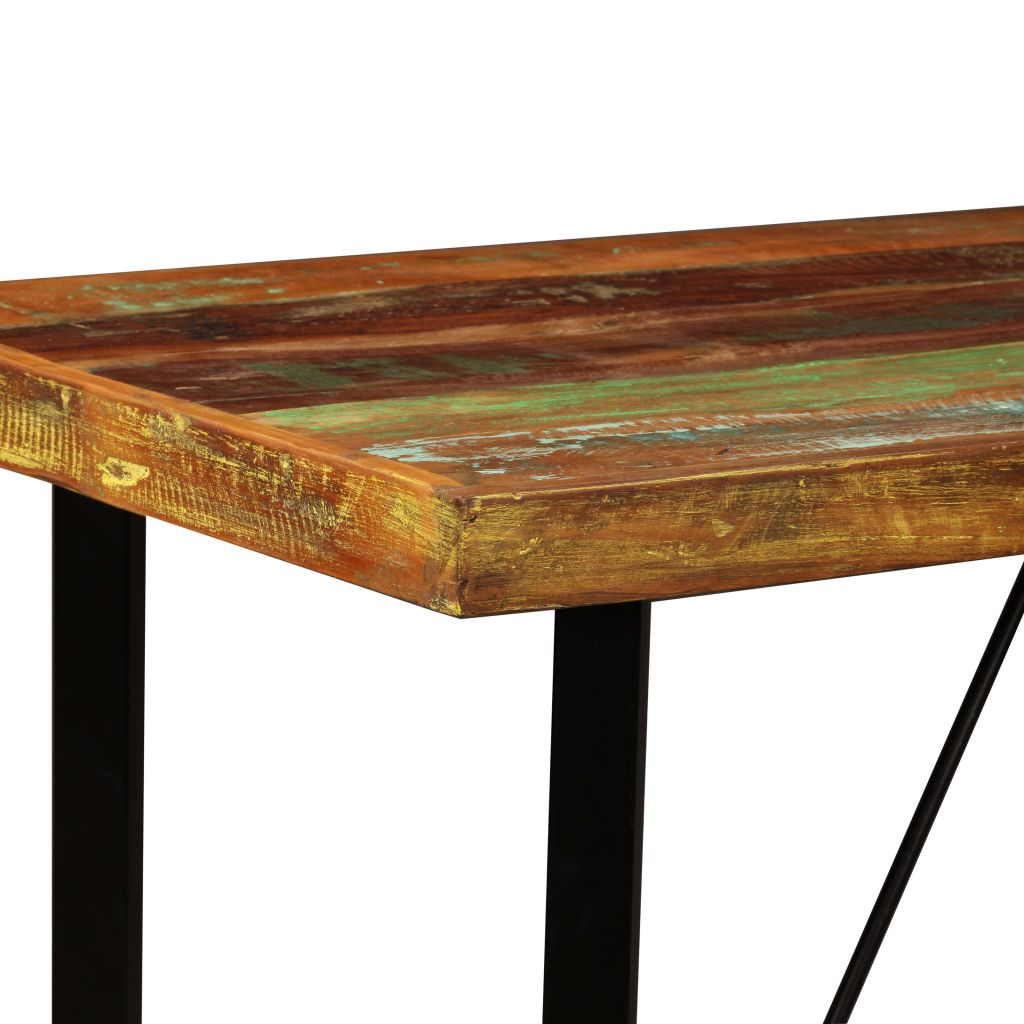 Bar Table 120x60x107 cm Solid Reclaimed Wood 3