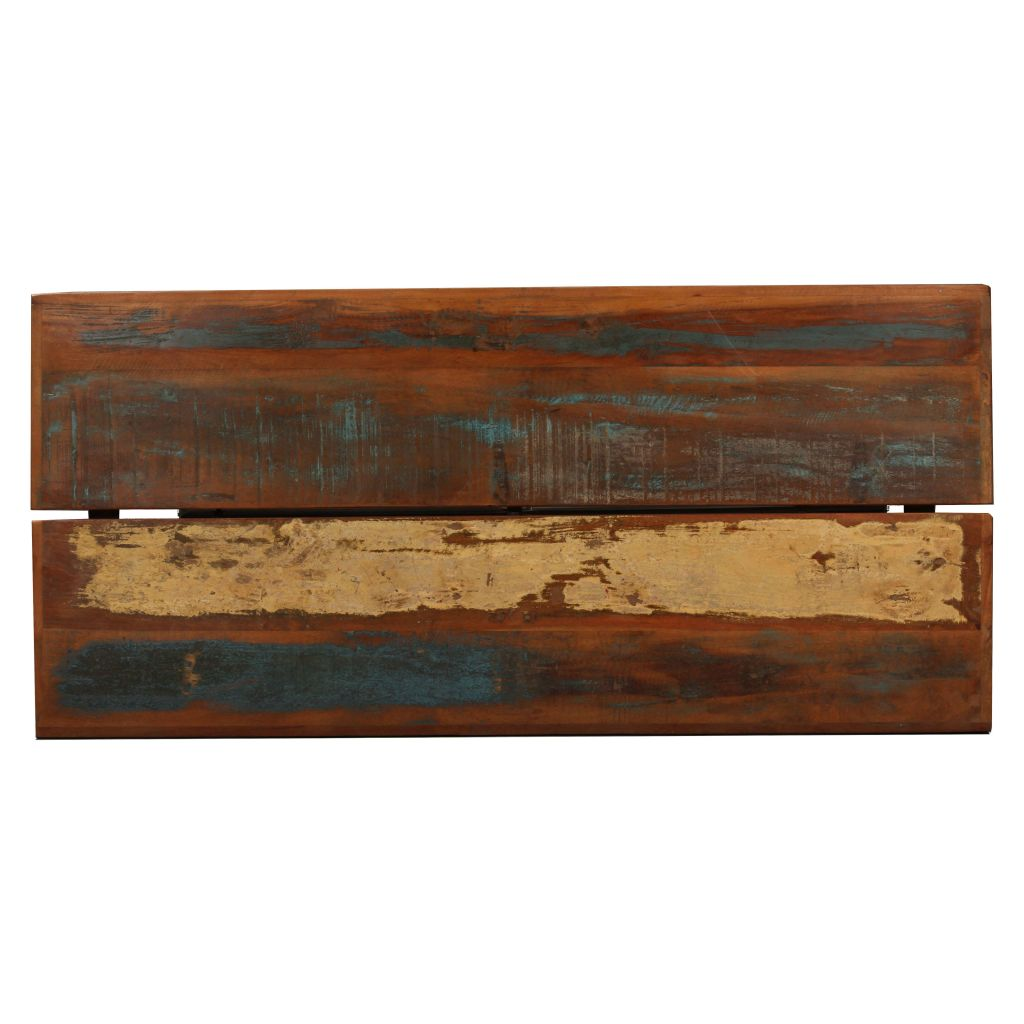 Bar Table 150x70x107 cm Solid Reclaimed Wood 6