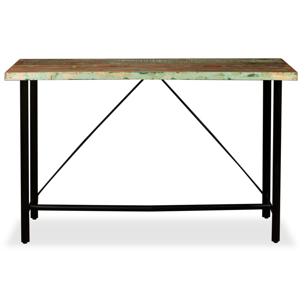 Bar Table 180x70x107 cm Solid Reclaimed Wood 2