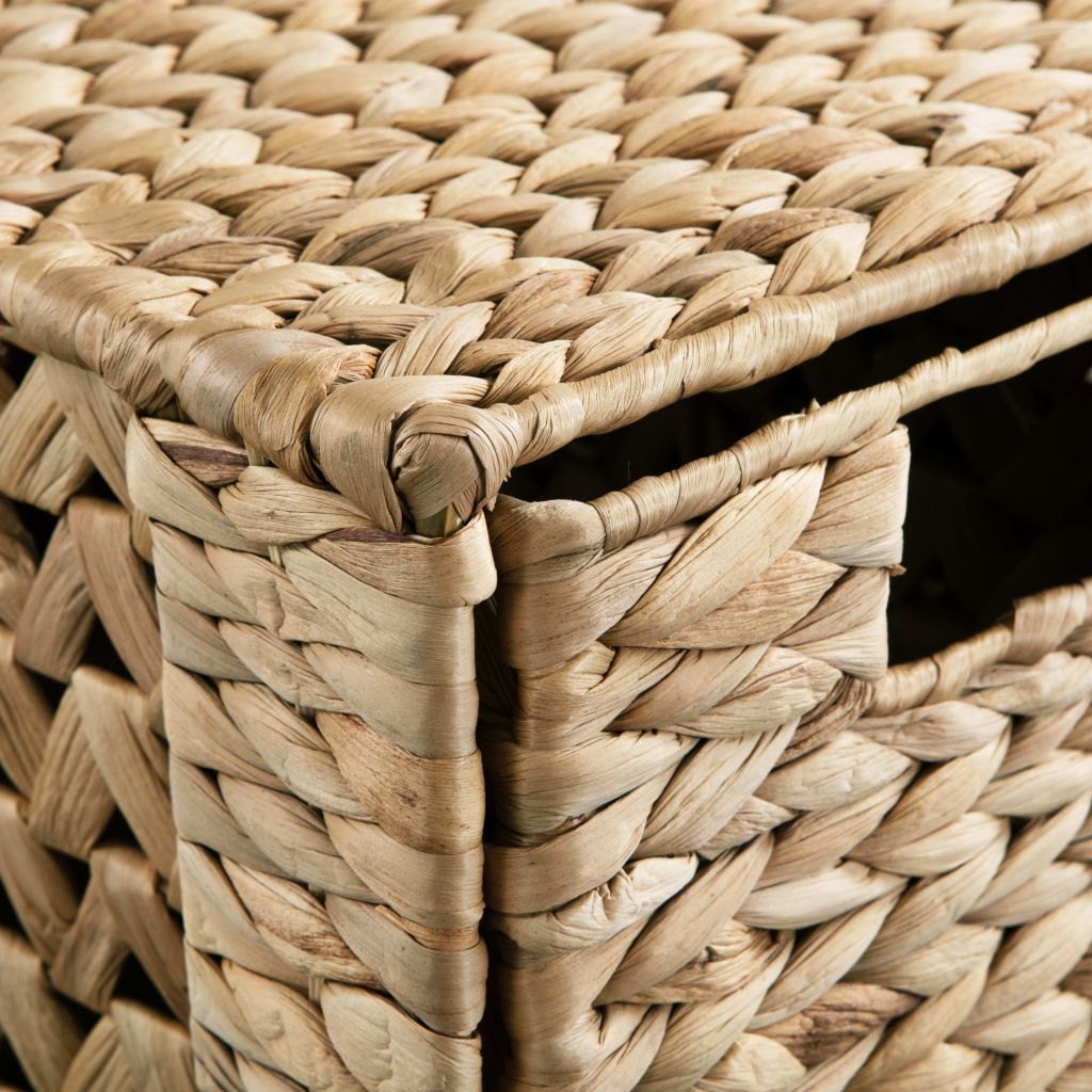 Storage Unit with 6 Baskets 47x37x100 cm Water Hyacinth 5