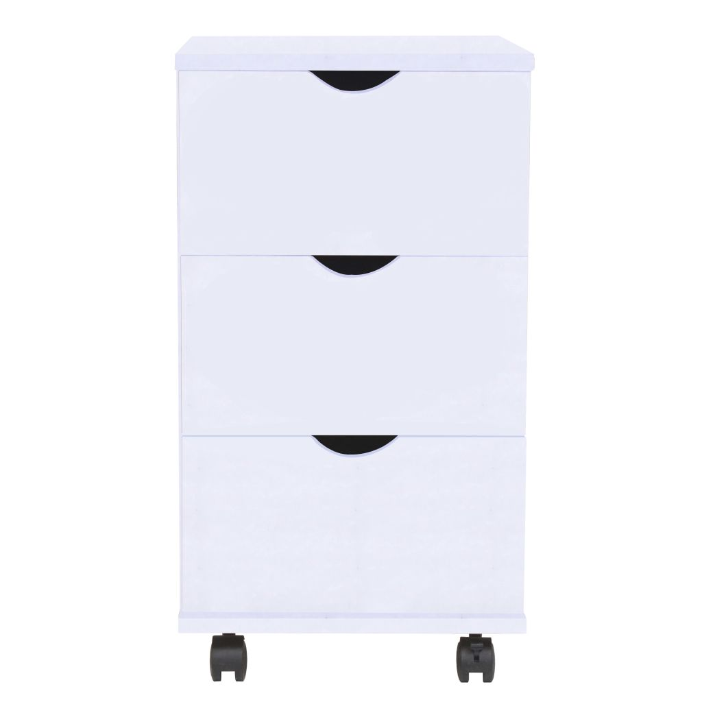 Drawer Unit 33x45x60 cm White 2