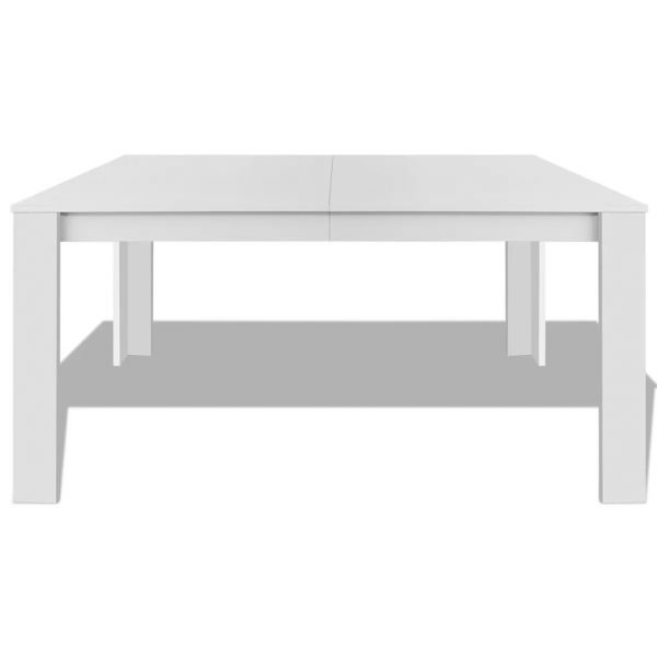 Dining Table 140x80x75 cm White 3