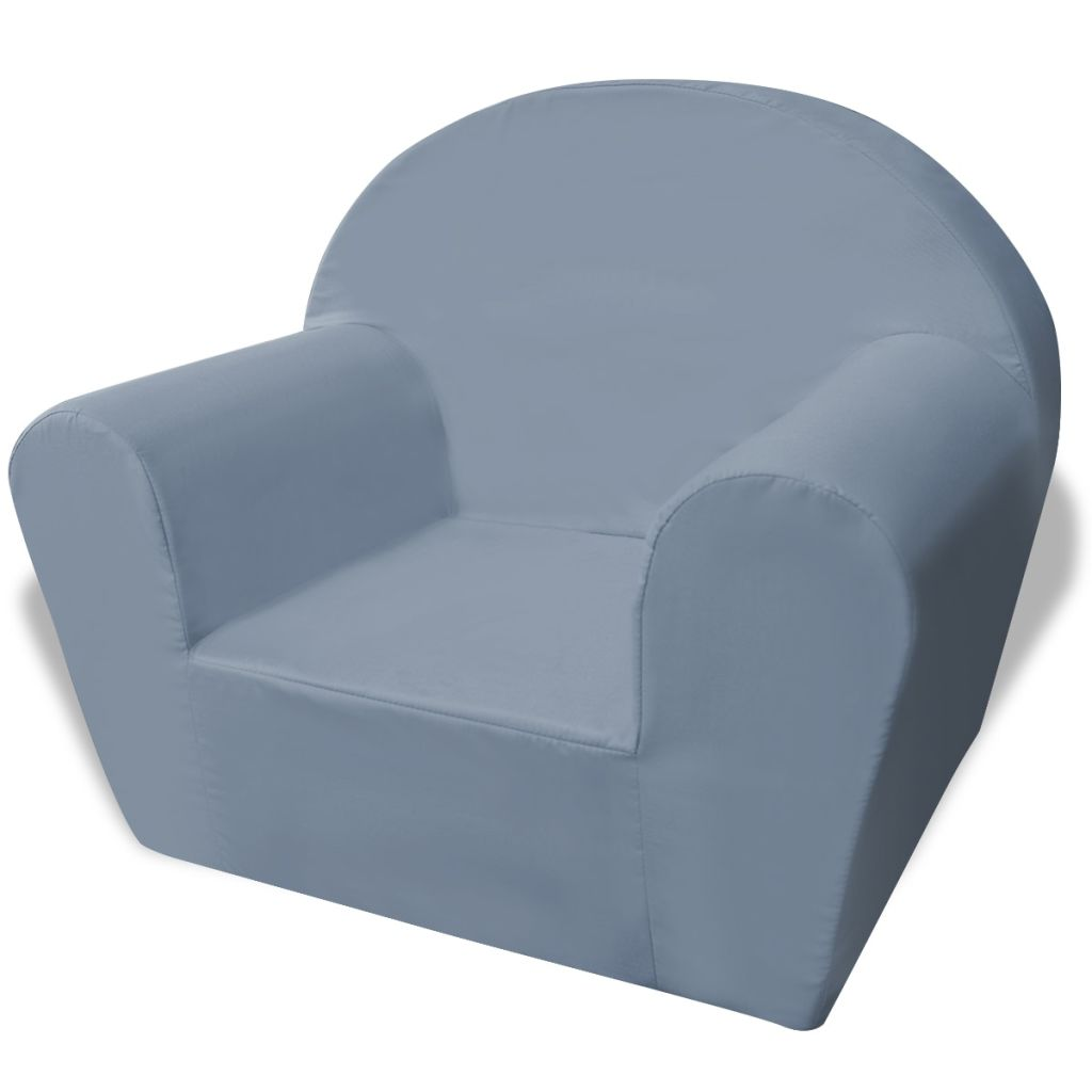 Kids' Armchair Grey 1