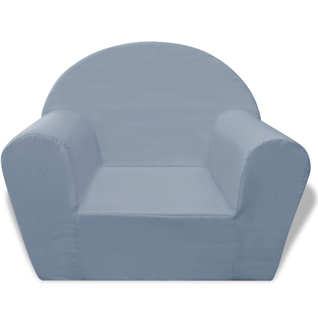 Kids' Armchair Grey 2