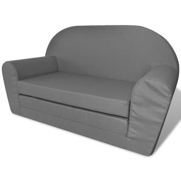 Kids' Flip-Out Lounge Chair Grey 2