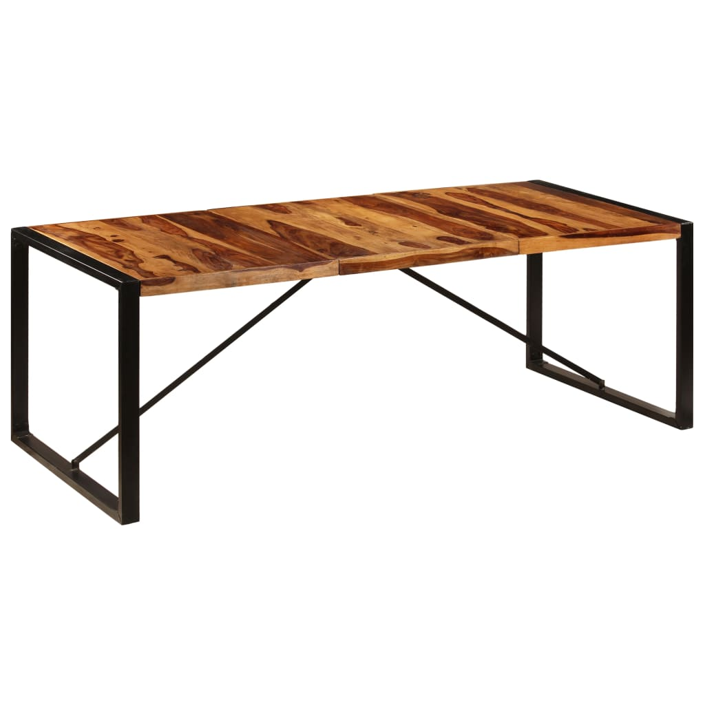 Dining Table 220x100x75 cm Solid Sheesham Wood 1