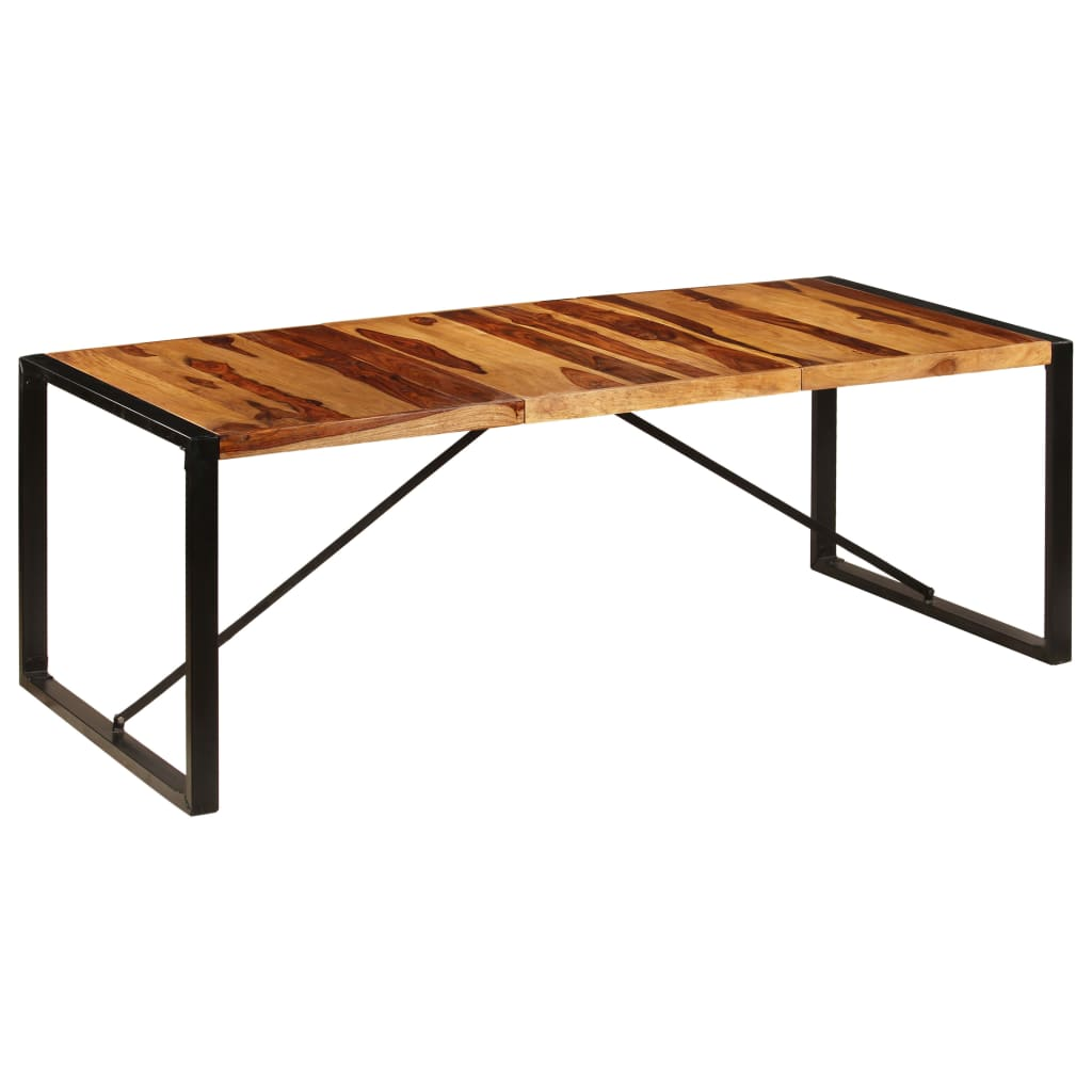 Dining Table 220x100x75 cm Solid Sheesham Wood 10