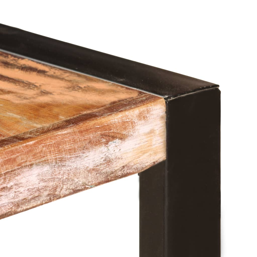 Dining Table 200x100x75 cm Solid Reclaimed Wood 5