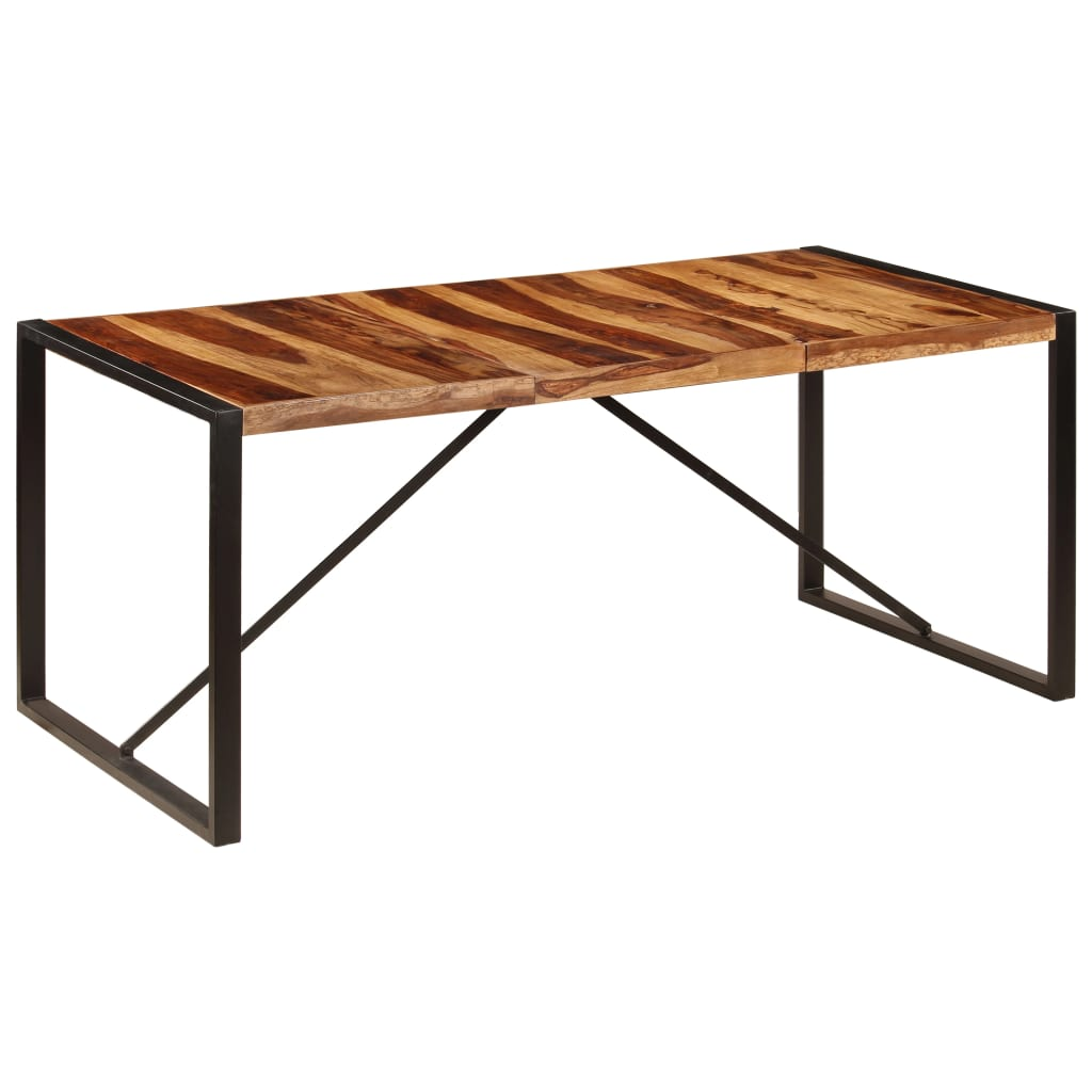 Dining Table 180x90x75 cm Solid Sheesham Wood 1