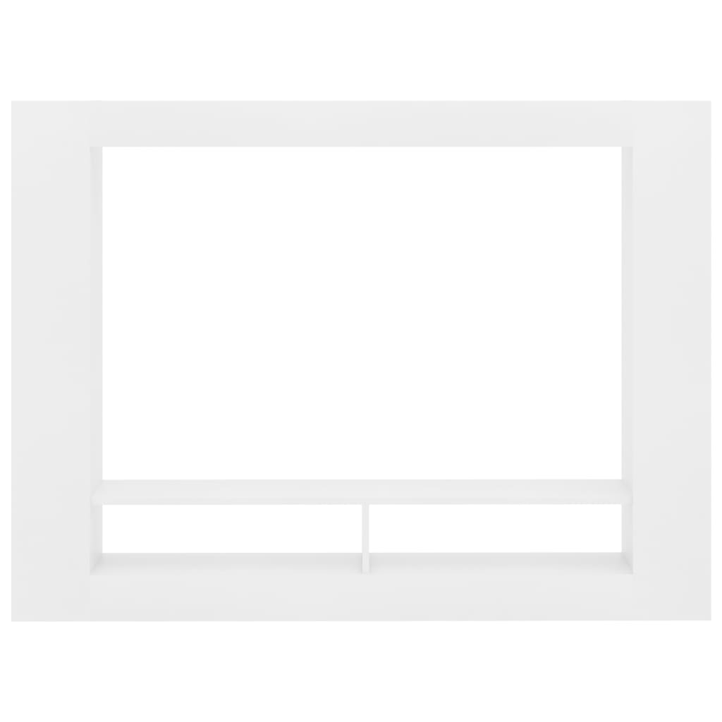 TV Cabinet White 152x22x113 cm Chipboard 4