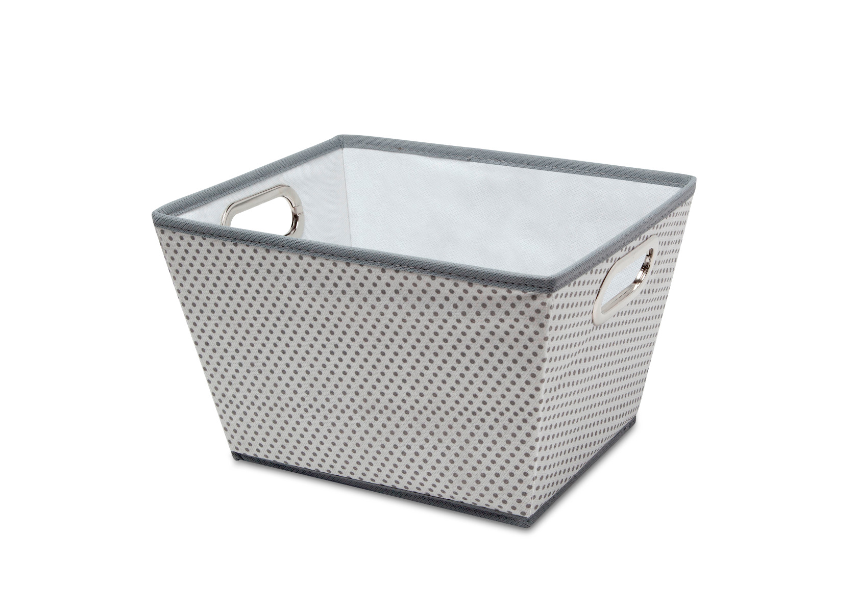 Rectangle Tapered Tote - Cool Grey
