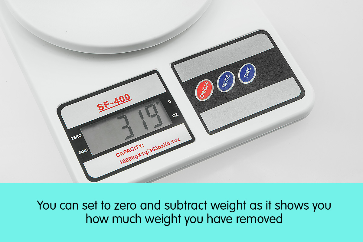Digital Kitchen Scales 10kg / 1gm Electronic Food Scale 4