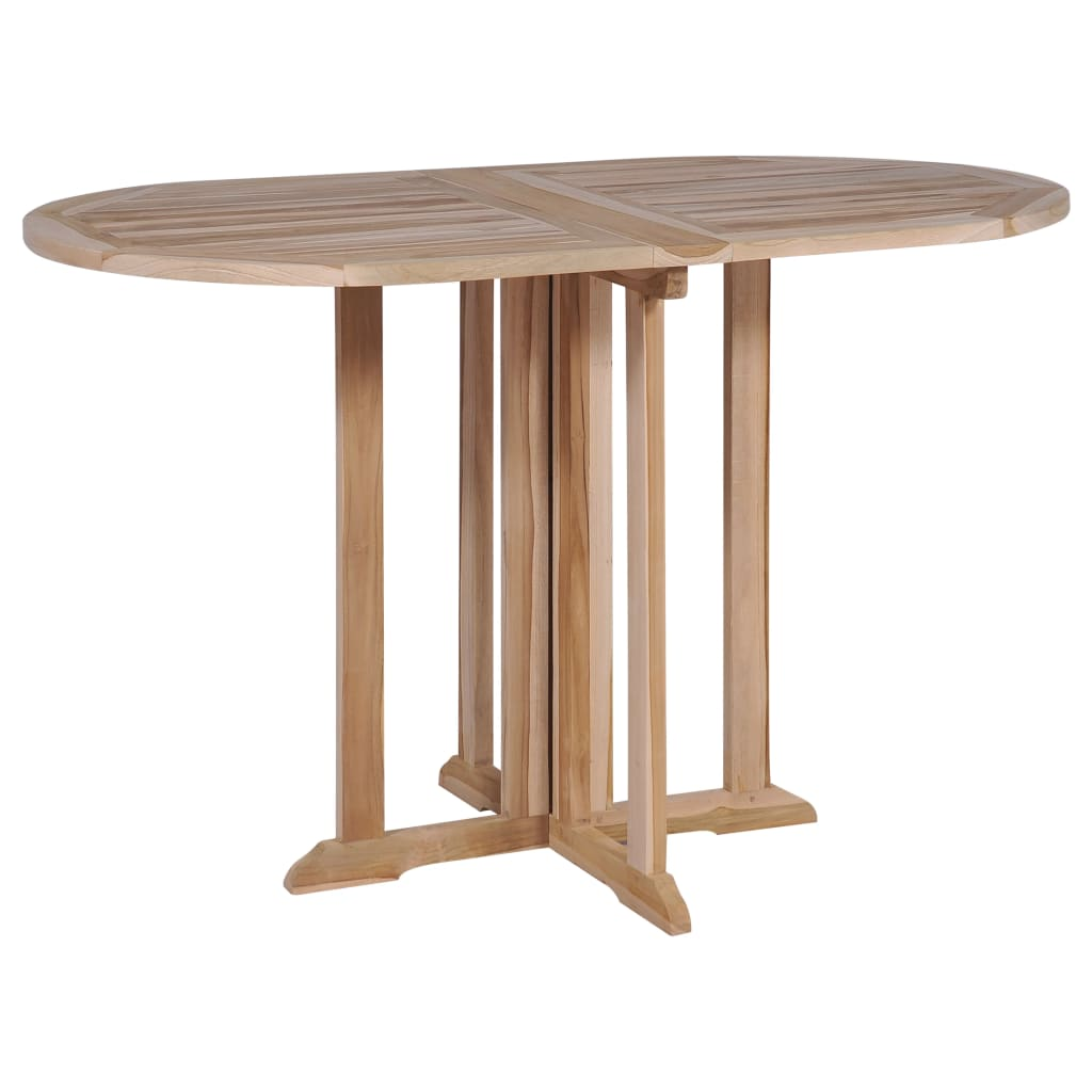 Folding Butterfly Garden Table 120x70x75 cm Solid Teak Wood 1
