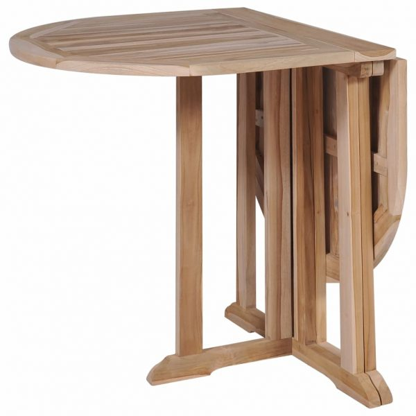 Folding Butterfly Garden Table 120x70x75 cm Solid Teak Wood 4
