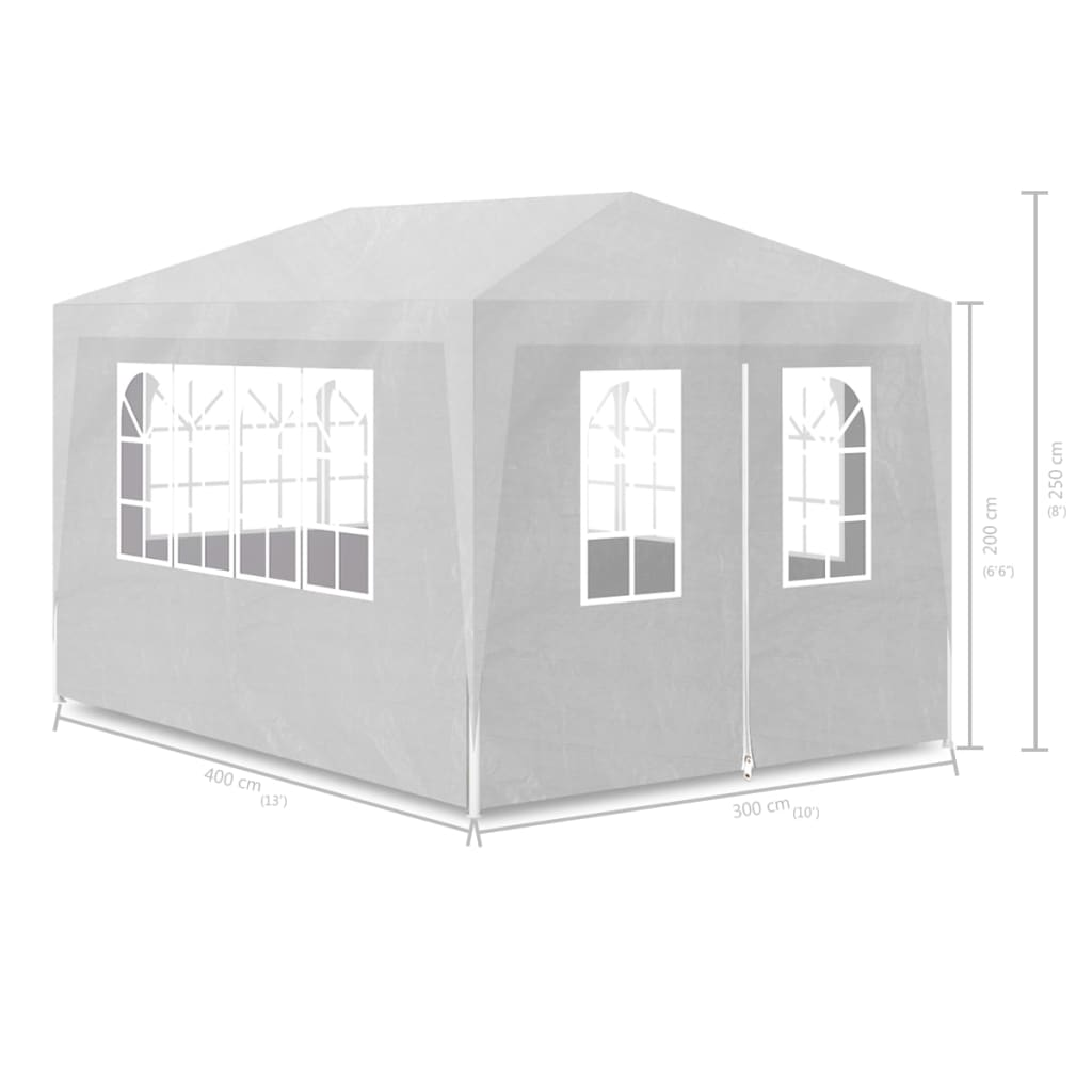 Party Tent 3×4 m white 7