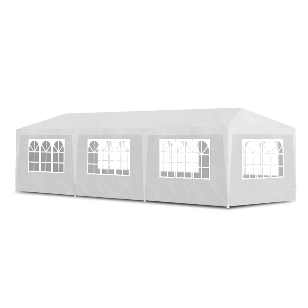 Party Tent 3×9 m White 2