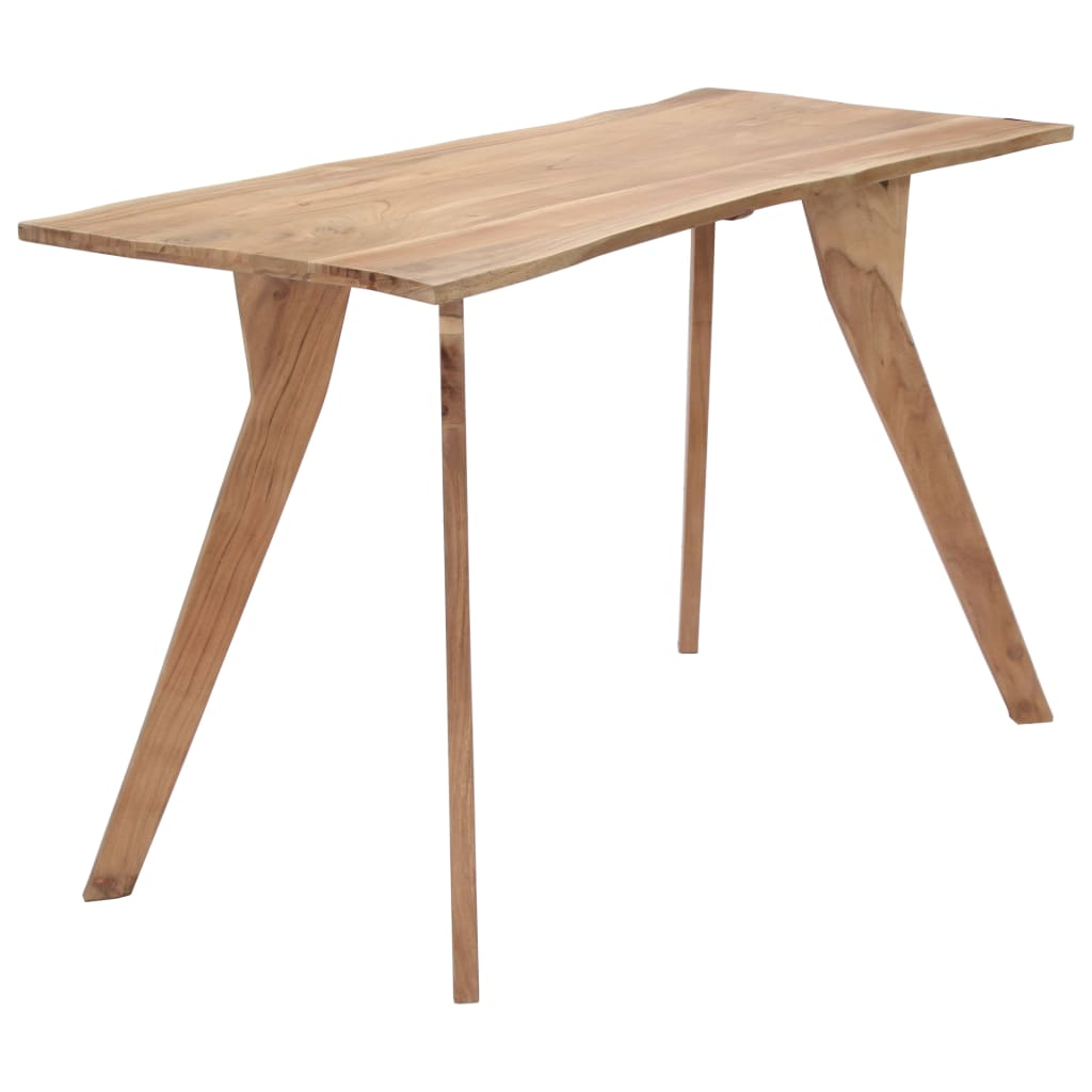 Dining Table 120x58x76 cm Solid Acacia Wood