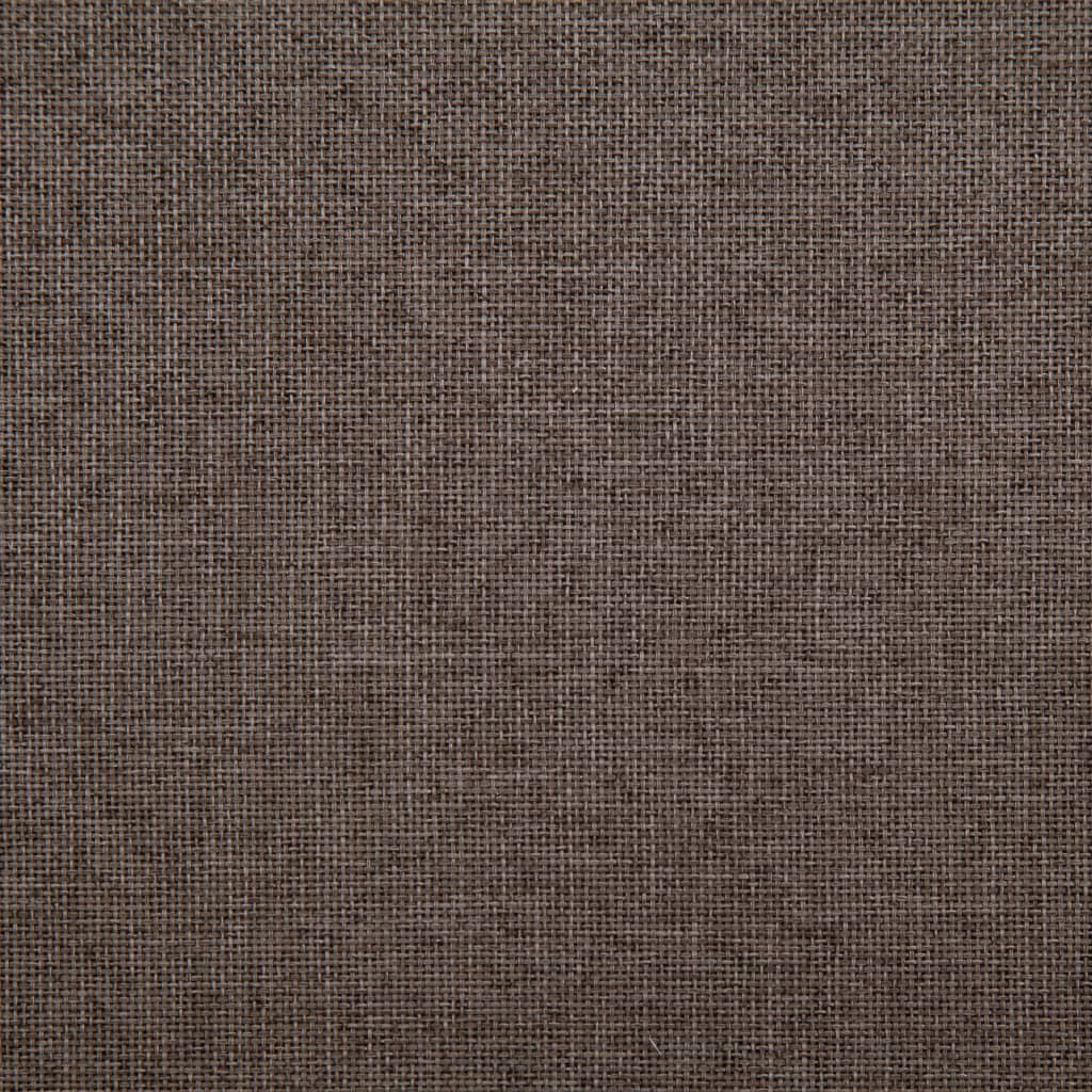 Sofa Bed Taupe Polyester 4