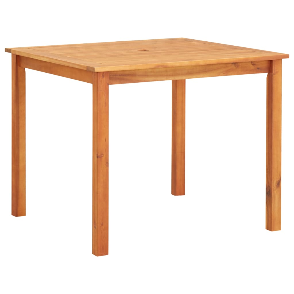 Garden Table 90x90x74 cm Solid Acacia Wood