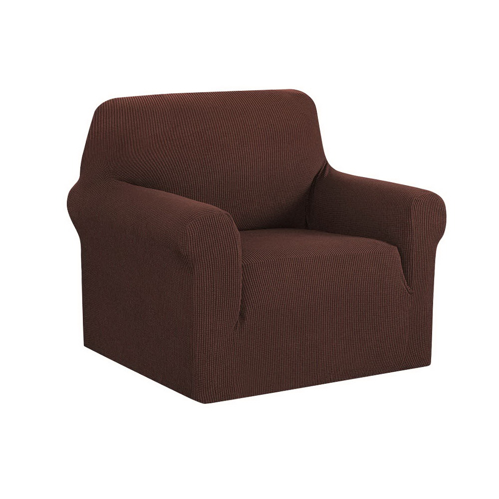 Artiss High Stretch Sofa Cover Couch Protector Slipcovers 1 Seater Coffee