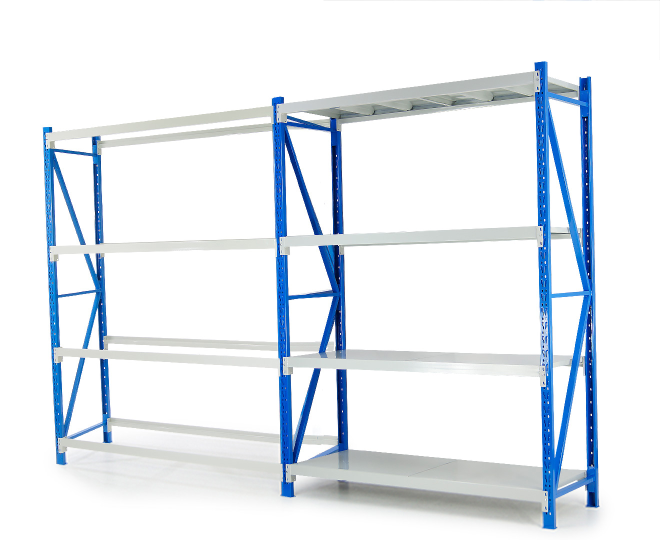 Garage Storage Steel Rack Shelving 2.0m-wide 800kg